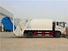 best 12CBM Garbage  Compression Truck with Rear Loading System