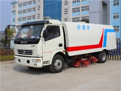 best 6000L road sweeper truck new production sanitation equipment