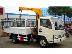 To Costa Rica 2Ton Telescoping Boom Crane Truck