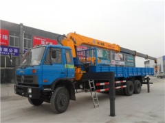10ton Chinese brand Xcmg Truck Mounted Crane (SQ10SK3Q) 10tons with optional chassis For Sale Exporters