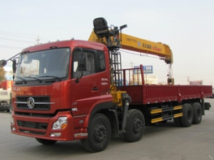 Best quality truck mounted crane lowest price sale