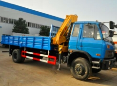 6.3 Ton knuckle boom truck mounted crane