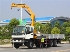 5 Ton Knuckle truck mounted crane