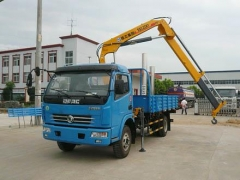 3.2 Ton Folding arm truck mounted crane
