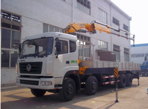 14 Ton good quality dongfeng 6x4 boom crane truck