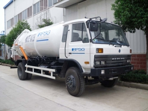 9000Liters vacuum sewage suction trucks hot sale