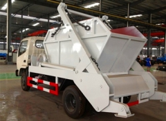 DFAC new products 2015 china swing arm garbage truck