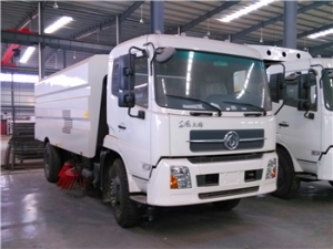 hot sale vacuum road sweeper truck in South Africa