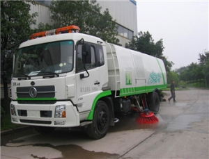 best quality road sweeper truck with good working condition