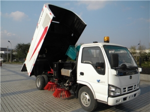 ISUZU 3CBM street sweeping truck hot sale best price
