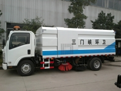 reliable price CEEC road sweeper truck service for government project