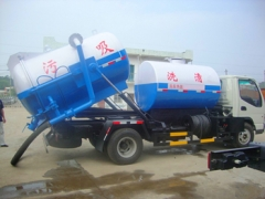 factory directly sale high quality combined jetting vacuum suction truck wholesale low price