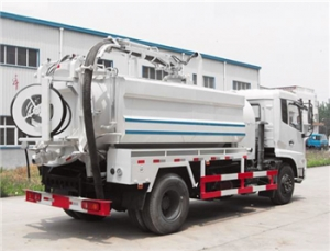 Combined Suction and Jetting Sewage Cleaner Truck