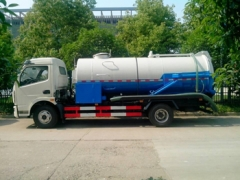 Dongfeng Jetting & Vacuum Combination Sewer Cleaning Trucks