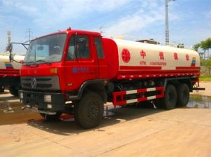 used water bowser tank trucks export to foreign countries