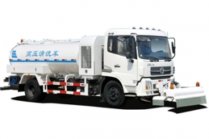 Dongfeng high pressure jetting water truck