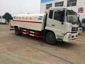 Good quality 7000Liters high pressure jetting trucks