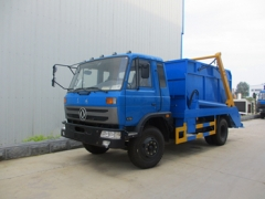 10CBM skip loader trucks garbage bin lifting trucks export