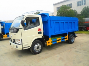 4000liters garbage collection trucks factory bottom price