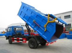 Good price 9000Liters DongFeng garbage trucks export