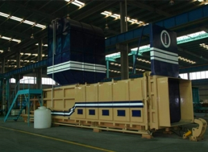 Factory price sale top quality Horizontal Level Preloaded Garbage Transfer Stations