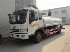 Best FAW 8CBM water tanker trucks export to Dubai