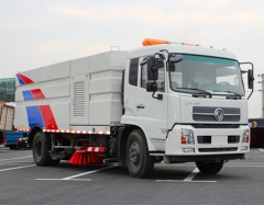 TOP quality 7000liters garbage tank vacuum road sweeper trucks