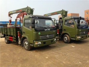 Manufacturer directly sale AWD 3.2Tons truck mounted crane