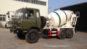 AWD DongFeng 6x6 cement mixing trucks wholesale
