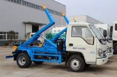 Hook lifting refuse transportation trucks