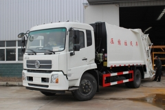 HOT sale 14000liter compactor garbage vehicles