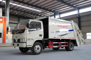 4CBM refuse compactor sanitation truck hot sale