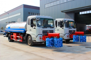 highway safety guard washing truck 10000liters capacity manufacturer supply