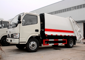 4CBM refuse compactor truck hot sale