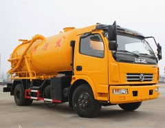6000liters vacuum sewage suction trucks for sale