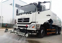 4units high pressure jetting truck for export to Myanmer