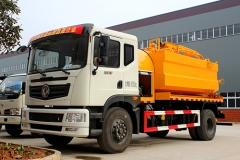 TOP quality combined jetting suction truck