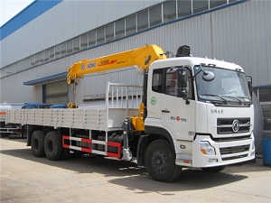 high quality telescopic truck mounted crane hot sale