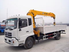8ton China Best Price Construction Crane XCMG Truck Mounted Crane SQ8SK3Q with Telescopic Boom Exporters