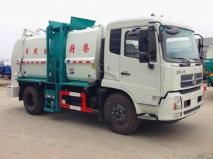 factory lowest price kitchen rubbish truck