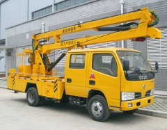 manufacturer sale 12m bucket lift mounted truck