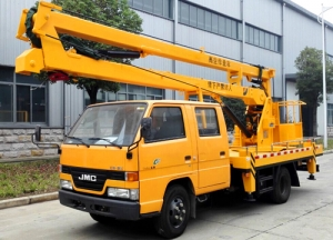 best quality JMC 14m high platform working truck