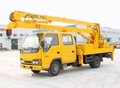 2016 produced ISUZU 16m bucket lifting truck