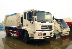 2015 Newly design garbage compactor truck 12cbm