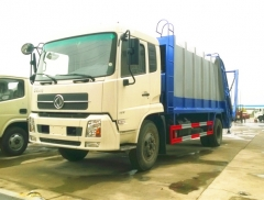 DongFeng 14CBM refuse compression trucks for export