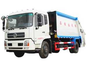 Best DFAC 14000 litres refuse compressor truck sale
