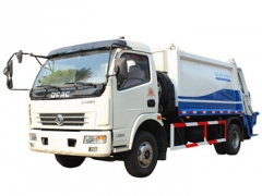 Dongfeng 7 cbm compressed garbage truck for China government