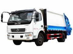 Dongfeng 8 cbm garbage compactor truck export Nepal
