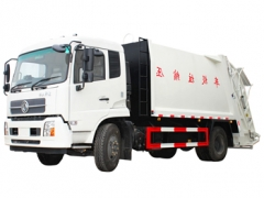 Best DFAC 14000 litres refuse compressor truck export