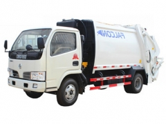 Dongfeng 5 cbm garbage truck export to Africa